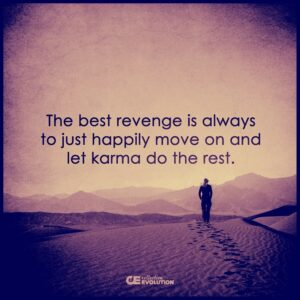Do better than the Antisocial and win!  Person walking away saying, don't fight let Karma do the rest.