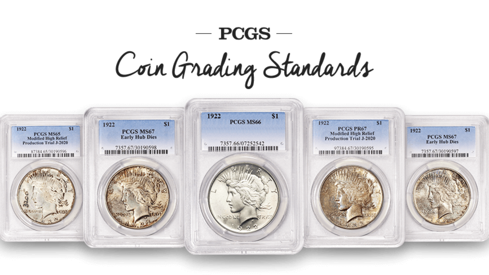 image of graded coins from PCGS